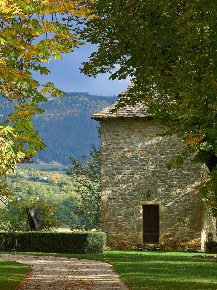 Chateau de Ressouches à Chanac , Lozère