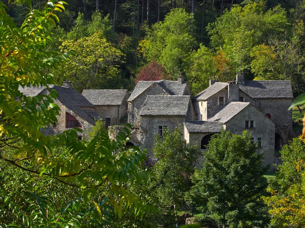 Photo de LA MALENE parution dans VMF la croze hameau en Lozère