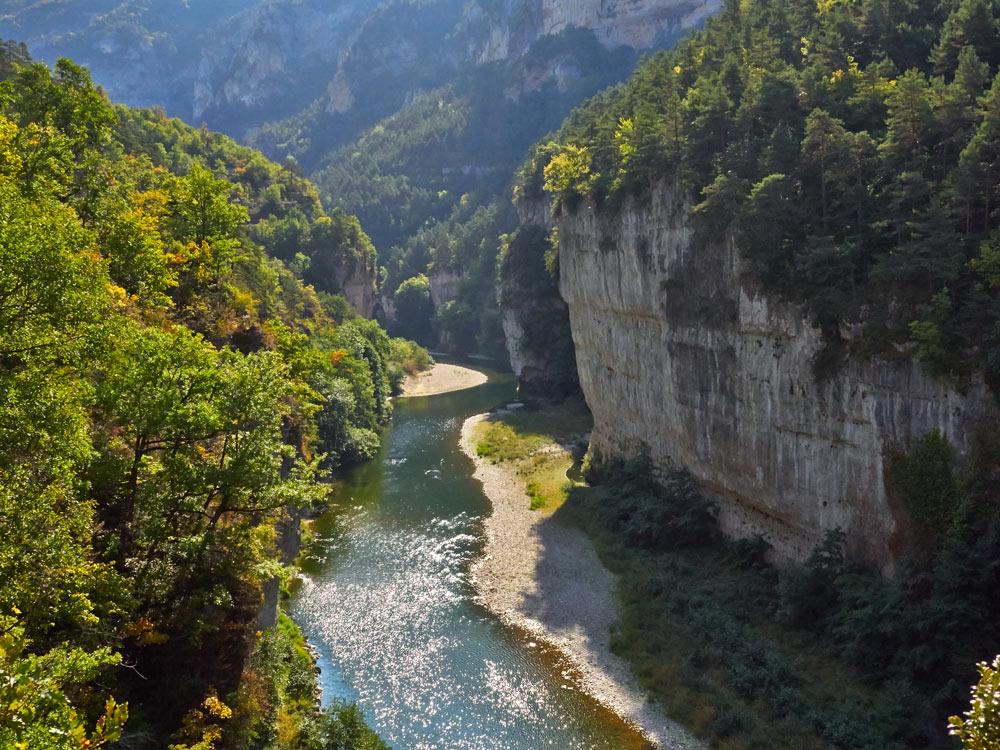 photo des gorges du Tarn