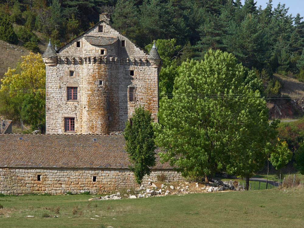photo du chateau Granc Lac à Laval du Tarn