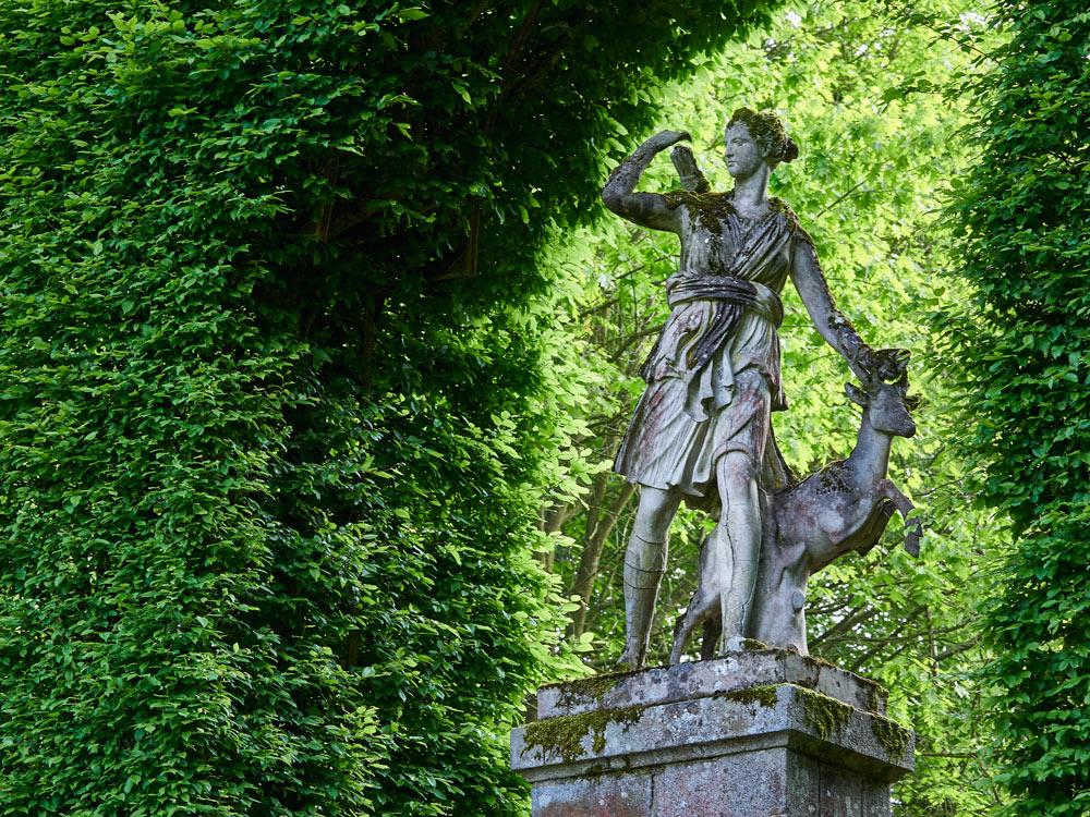 jardin du chateau de Caradeuc , Bécherel