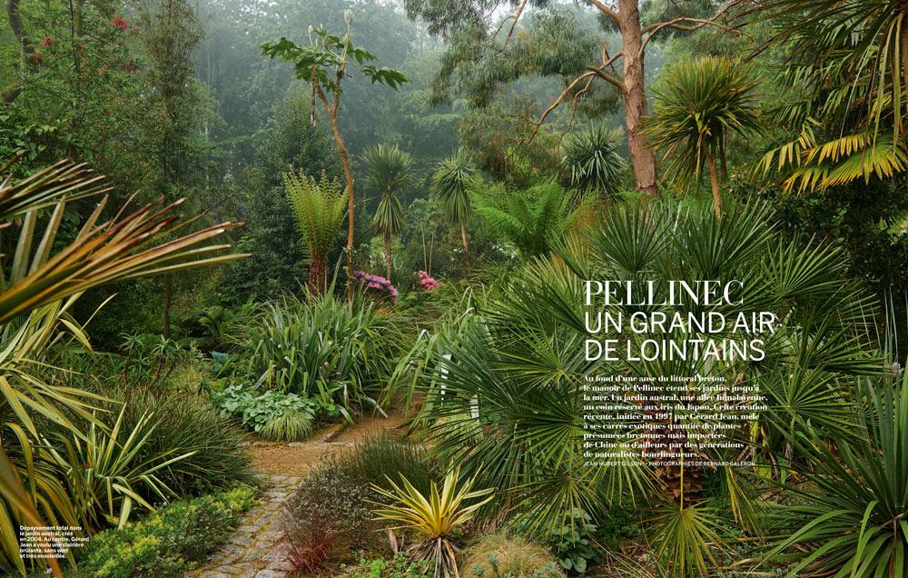photo du jardin de PELLINEC dans Vmf