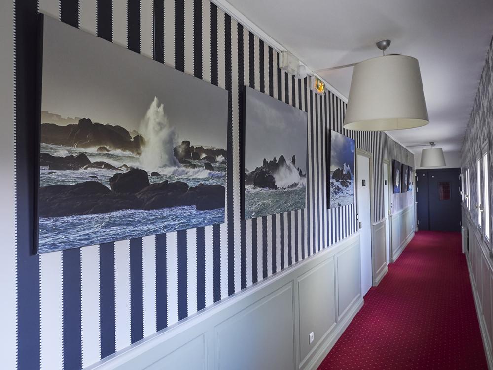 tirages d art en exposition la mer en hiver Finistère