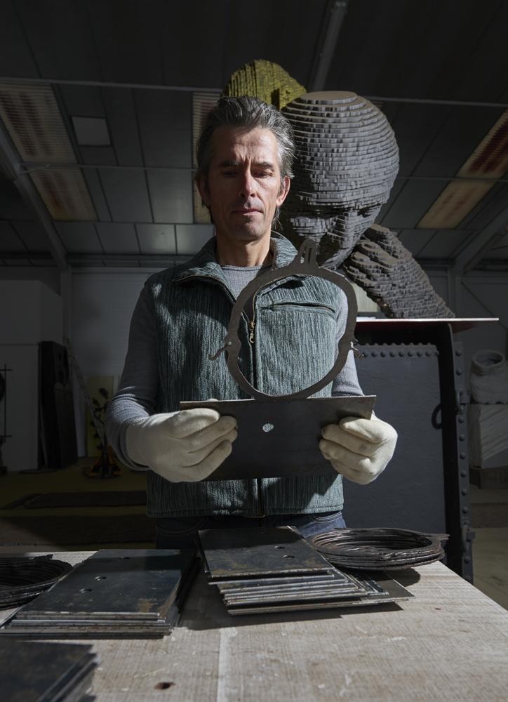 reportage sculpteur Marc Didou , Ateliers d Arts de France