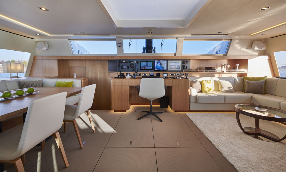 chantier naval JFA Yachts de Concarneau catamaran