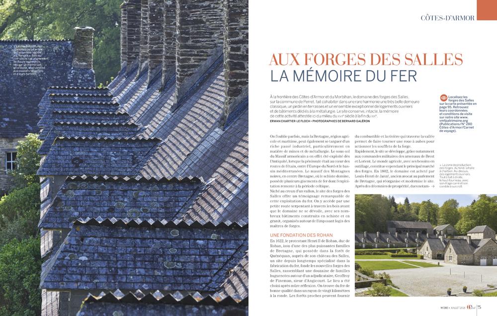 reportage photo , revue VMF , spécial Cote d'Armor