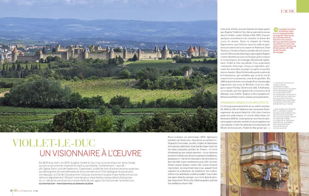 reportage photo , revue VMF , spécial Aude