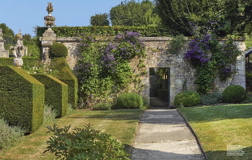 Revue VMF , jardin de Brécy , Calvados