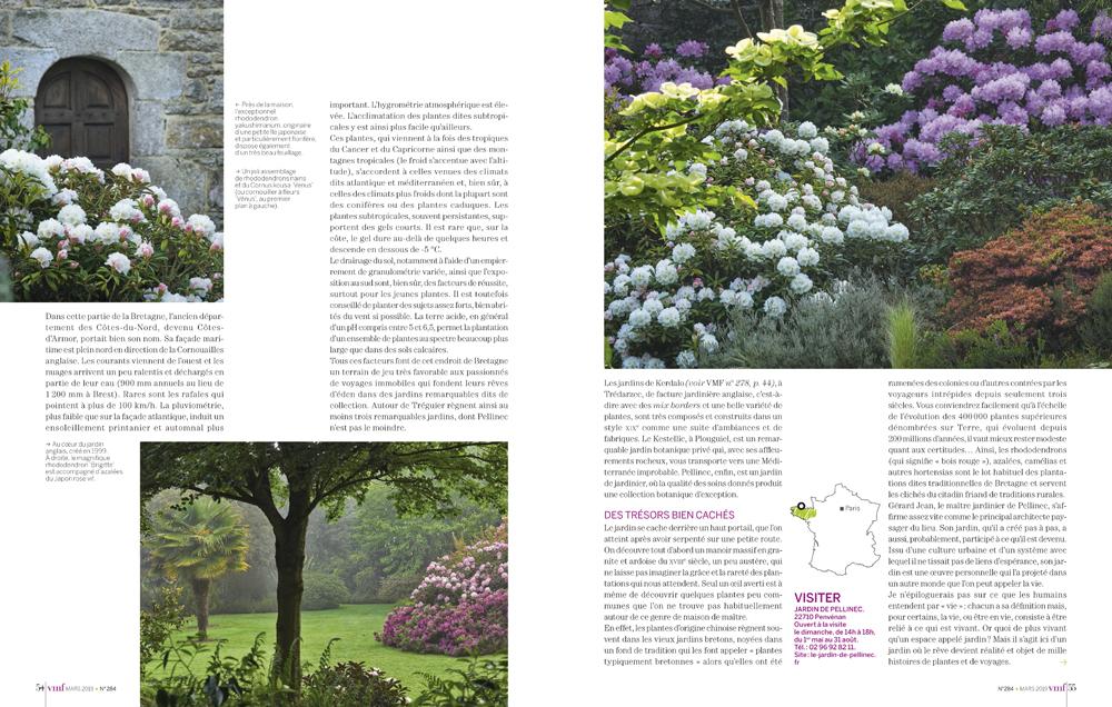 Reportage photo - jardins du Pellinec - Cote d Armor - printemps