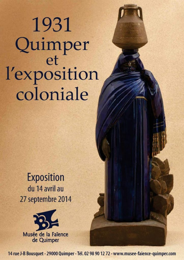 exposition coloniale musée de la faience Quimper