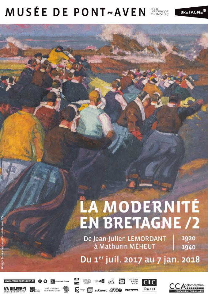 La modernité en Bretagne, affiche