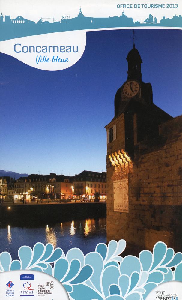 Reportage photo pour la brochure de l'Office de tourisme de Concarneau