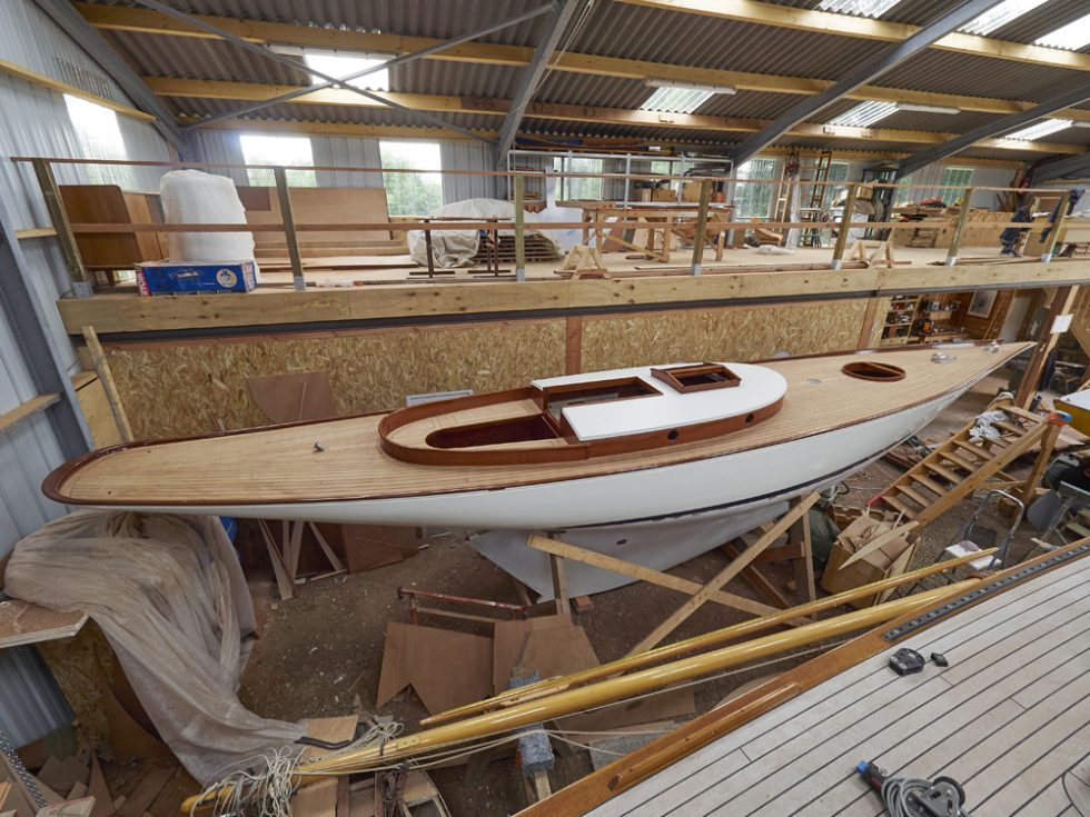 reportage photo sur Gwell du chantier naval Hubert Stagnol