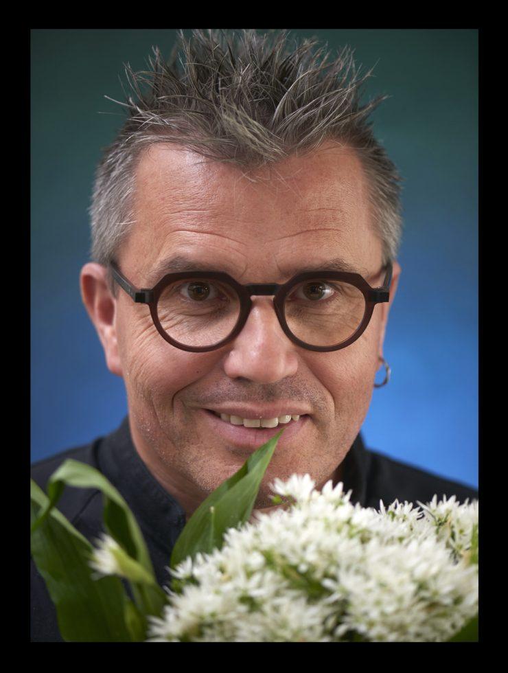 Lionel Hénaff , chef au restaurant l Allium à Quimper
