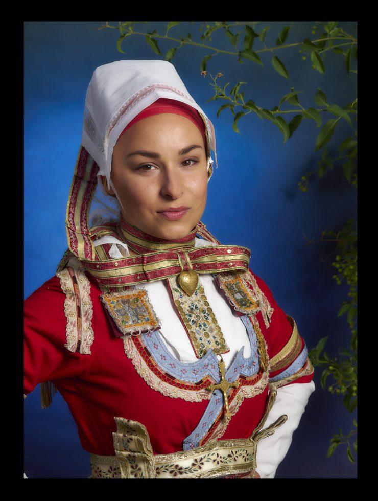 costume de mariée du pays Glazig