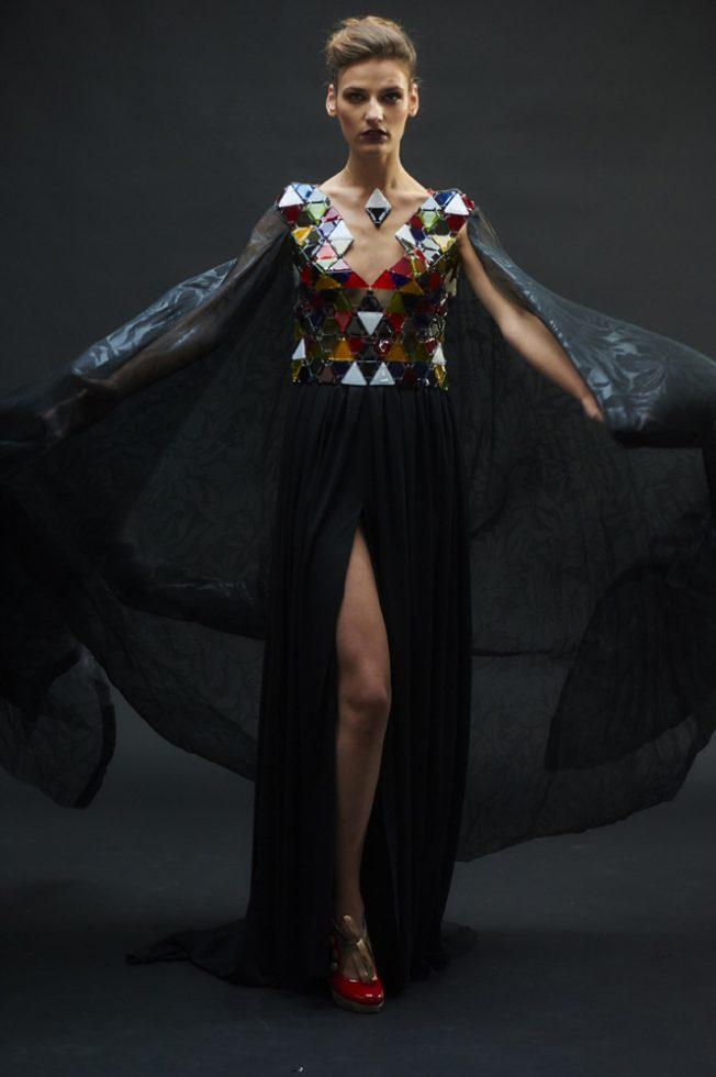 robe verre creation de Sird JOS eT Nolwenn Le Lay