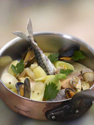 cotriade de petite pêche bretonne.Patrice Caillault