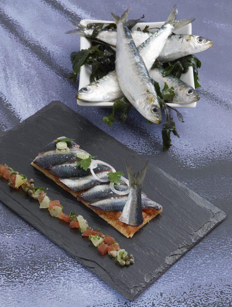 fine tartelette de sardines du croisic Patrice Caillault