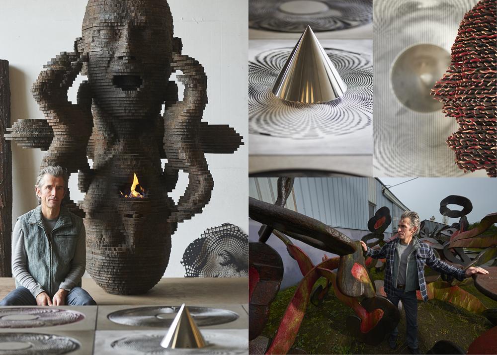 Sculpteur Marc Didou, Lesneven, revue Atelier d'art de France