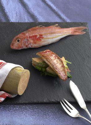 sandwich de rouget au foie gras , Guy Guilloux