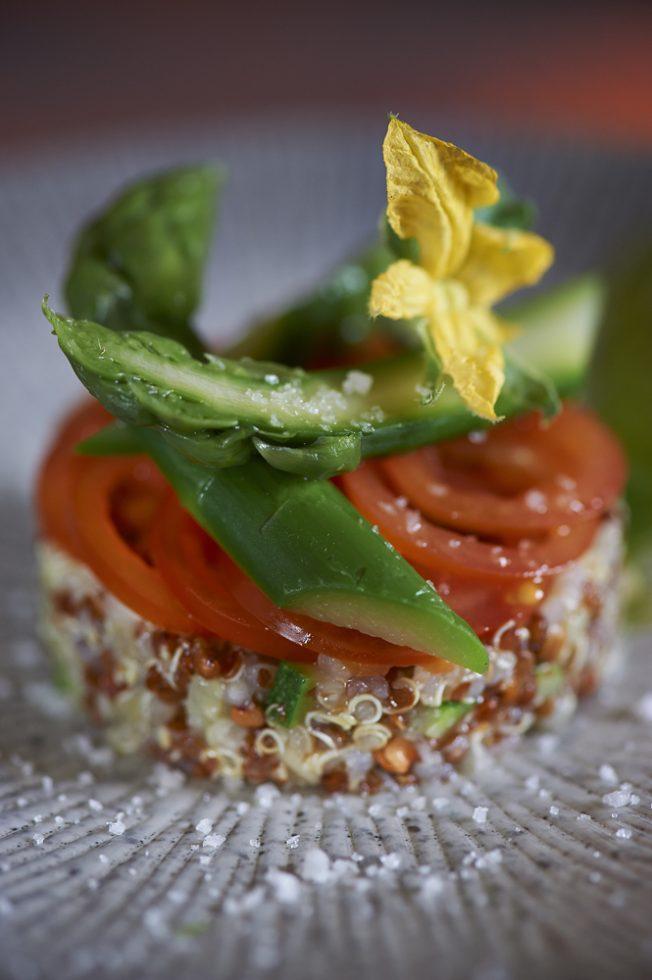 Salade au quinoa et blé noir torréfié , Olivier Bellin