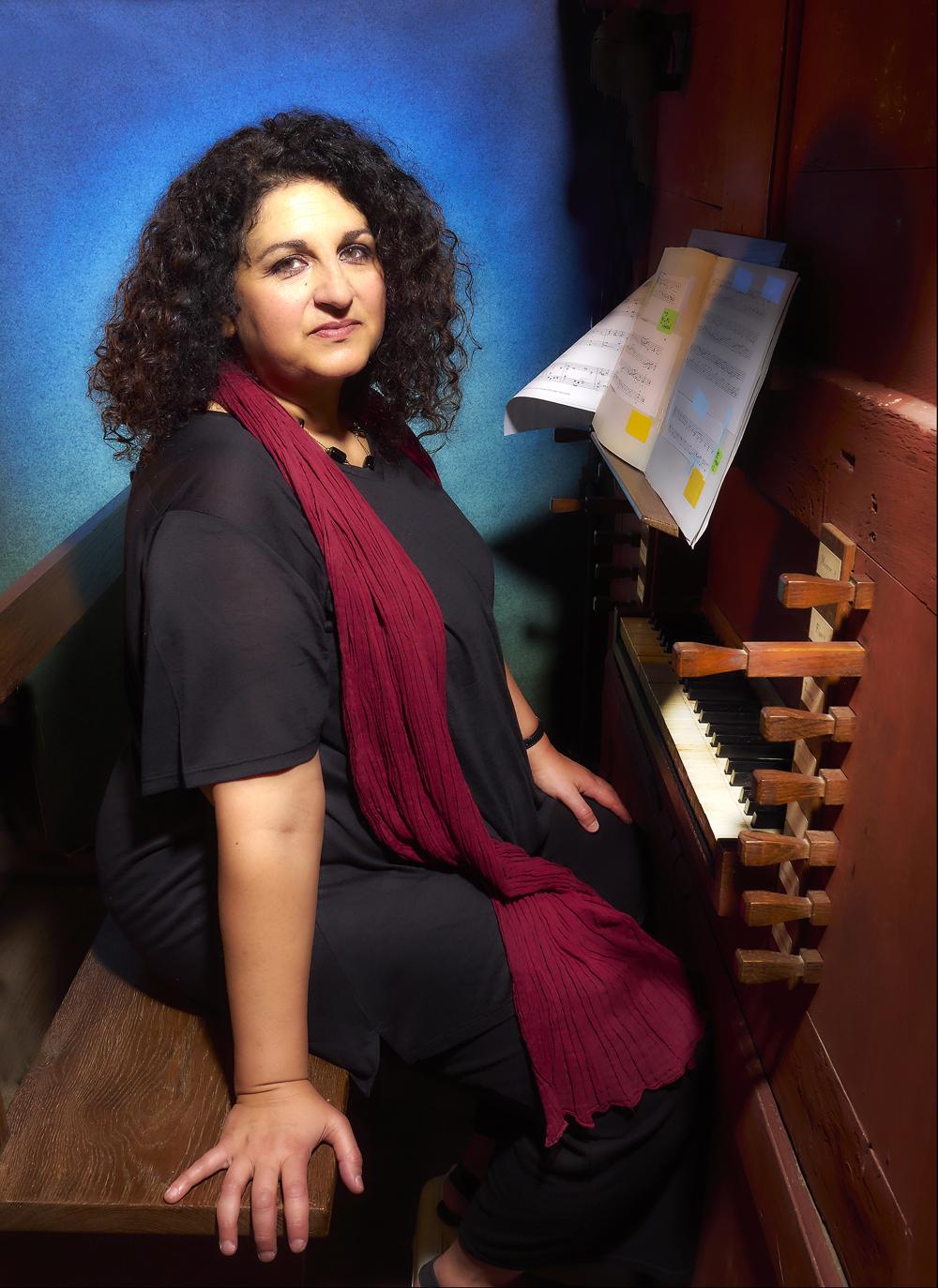 Marta Gliozzi, organiste, Quimper