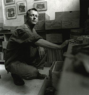 Olivier Lapicque, peintre, graveur, Concarneau artiste Brittany Ferries,