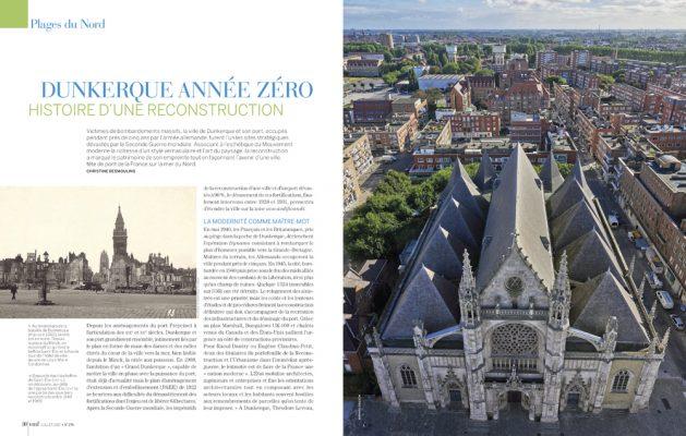 Dunkerque , histoire d une reconstruction , Vmf , plages du Nord