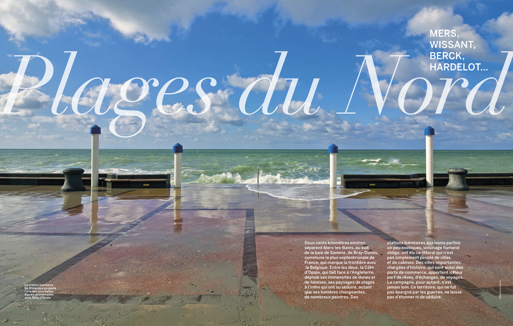 Le ciel et la mer , construire l espace balnéaire , Vmf , plages du Nord