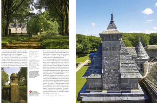Chateaux et Manoirs en pays de Léon ,Finistère , Vmf