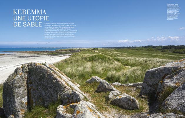 KEREMMA une utopie de sable , Finistère , Vmf