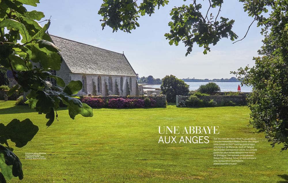 Une abbaye aux anges , Landéda , Finistère , Vmf