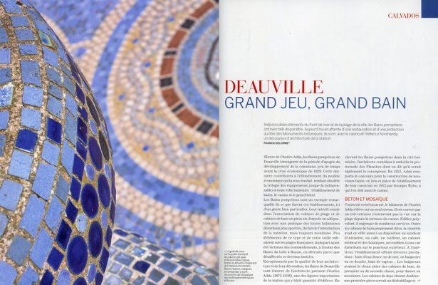 Deauville , grand jeu , grand bain , Vmf Calvados