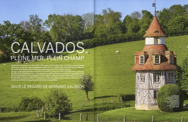 Vmf , le bocage normand du littoral du Calvados