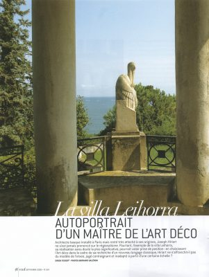 Vmf , Pays Basques , La villa Leihorra