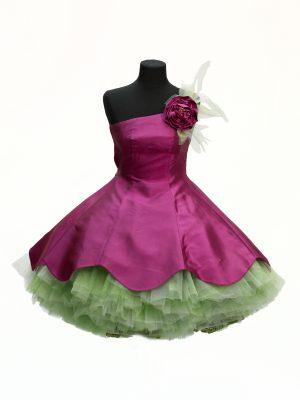 Robe Rose Tutu Vert - Katell création Pascal Jaouen