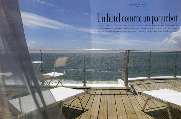 concarneau ,hotel les sables blancs,maisons coté ouest