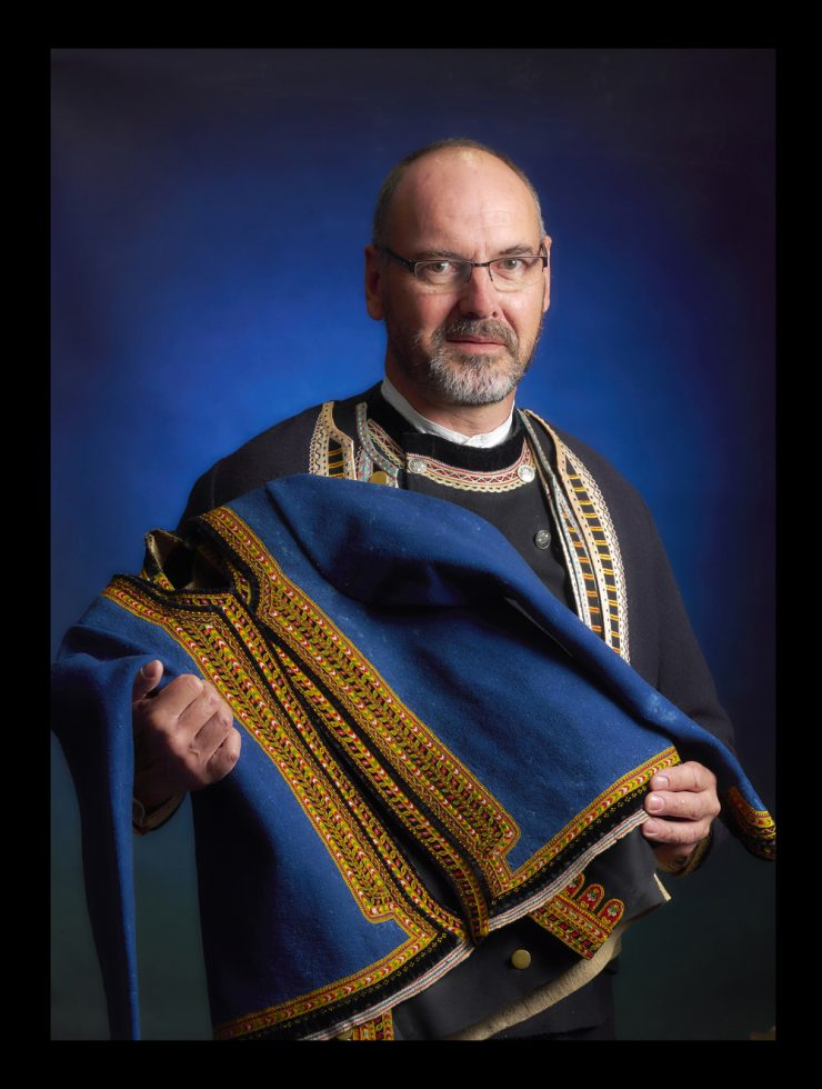 Jean Pierre Gonidec , historien du costume breton