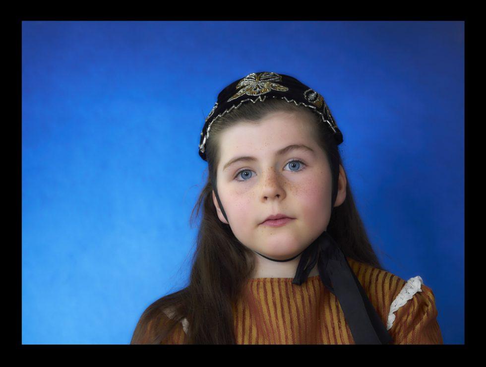 costume de jeune fille du pays Glazig