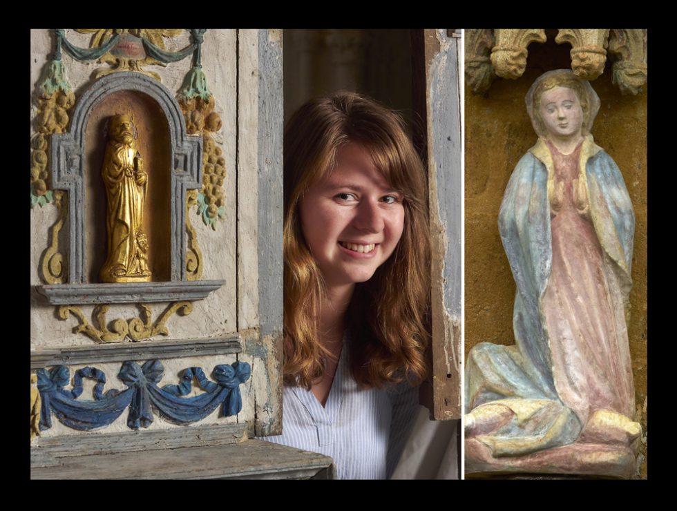bénévole pour la restauration de la chapelle de Quilinen , Landrévarzec
