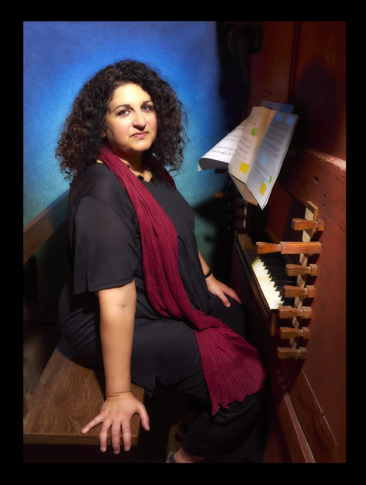 Marta , organiste , Ergué gabéric