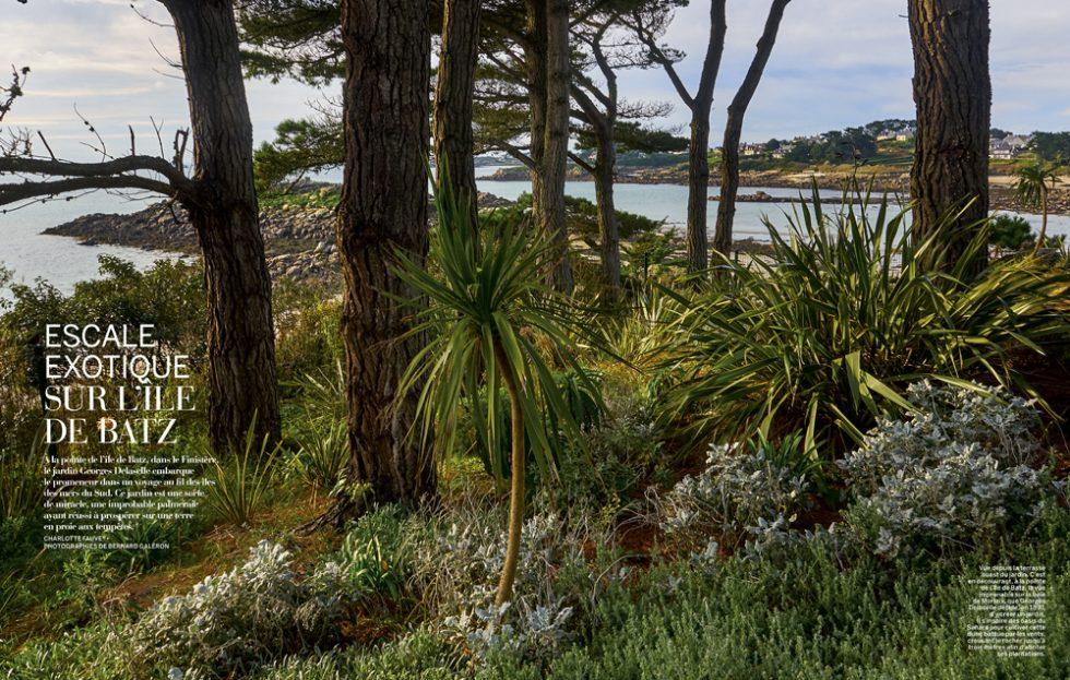 Jardin exotique de l ile de Batz_George Delaselle Finistère
