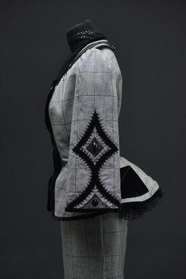 Robe la Léonarde, création Pascal Jaouen, collection Gwenn ha Du