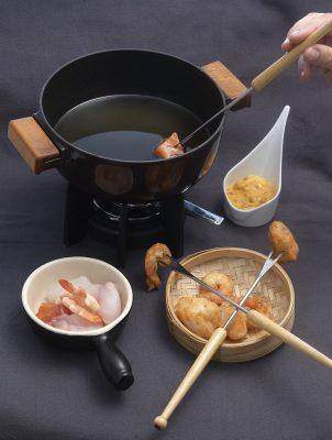 fondue de poissons mousseline de tomates. Patrice Caillault