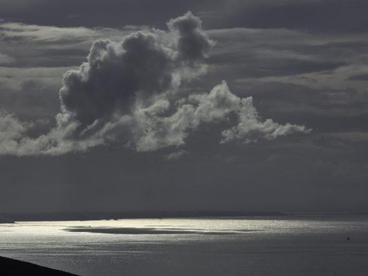 baie de Douarnenez en hiver , Finistère , Bretagne