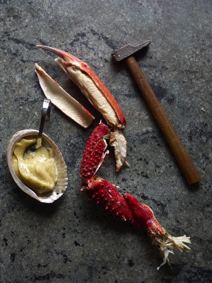 Araignée de mer mayonnaise , Henri Pellen
