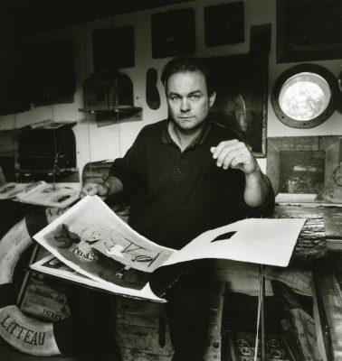 Patrick Serk, peintre, artiste Brittany Ferries