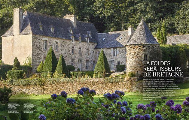La foi des rebatisseurs de Bretagne , Finistère , Vmf