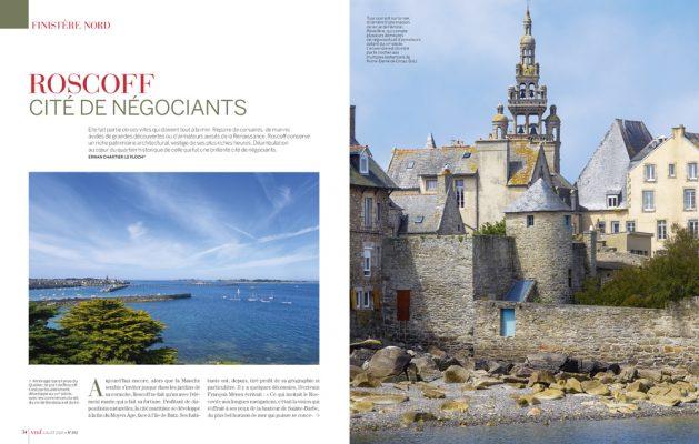 Roscoff , cité de négociants , Finistère , Vmf