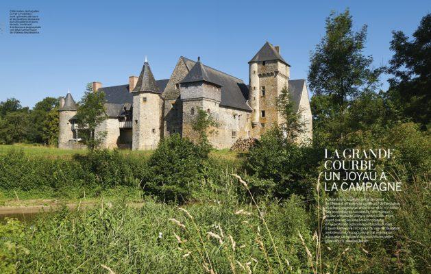 La Grde Courbe , VMF spécial Mayenne , novembre 2020